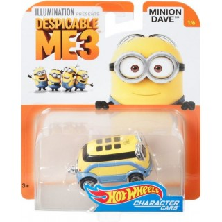 Cattivissimo Me Minion Dave Vehicle 1:64 Collection 1/6