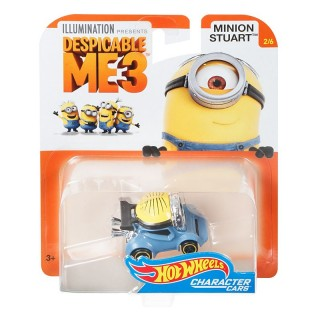 Cattivissimo Me Minion Stuart Vehicle 1:64 Collection 2/6