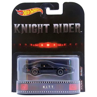 Pontiac Trans AM Knight Rider K.i.t.t. Retro Entertainment 1:64