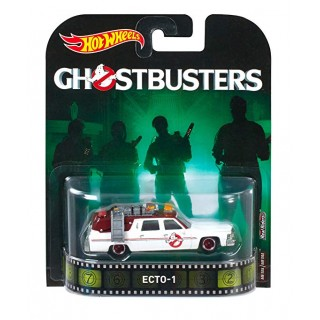 "Cadillac Ecto-1 ""Ghostbusters"" 1:64 Retro Entertainment"