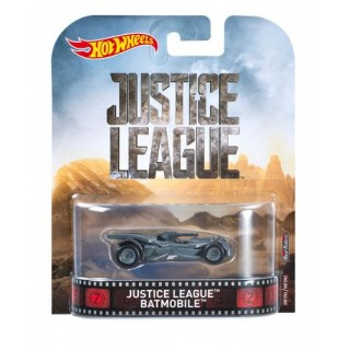 Justice League Batmobile Vehicle 1:64 Retro Entertainment