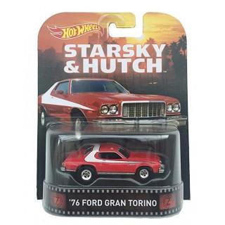 """Ford Gran Torino 1976 """"Starsky & Hutch"""" 1:64 Retro Entertainment"""