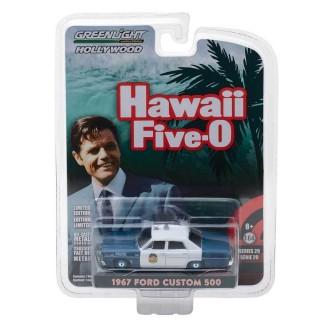 "Ford Custom 500 Police 1967 ""Hawaii Five-0"" 1:64"