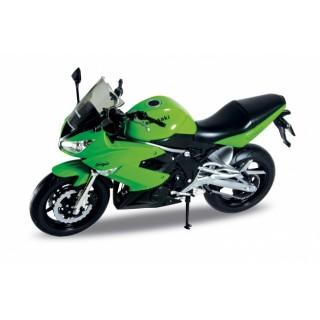 Kawasaky Ninja 650R green 1:10