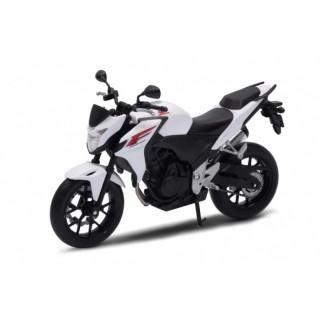 Honda CBF 500F white 1:10