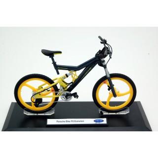 Bicicletta Porsche Bike FS Evolution grigio / giallo 1:10