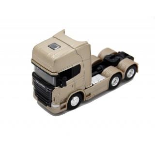 Scania V8 R730 (6x4) Gold Metallic 1:64