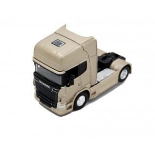 Scania V8 R730 (4x2) Gold Metallic 1:64