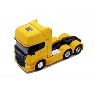 Scania V8 R730 (6x4) Giallo 1:64