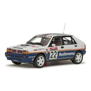 LANCIA DELTA HF INTEGRALE 16V - D.Auriol / B.Occelli - Winner 1991 Rallye Sanremo 1:18