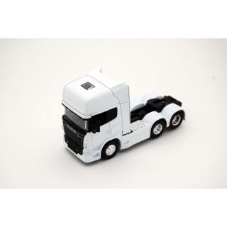 Scania V8 R730 (6x4) Bianco 1:64