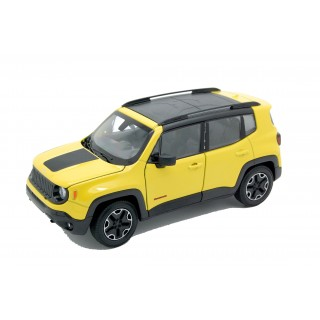 Jeep Renegade Trailhawk 2017 Yellow 1:24