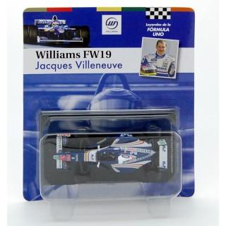 Williams Renault FW 19 F1 1997 Jacques Villeneuve 1:43