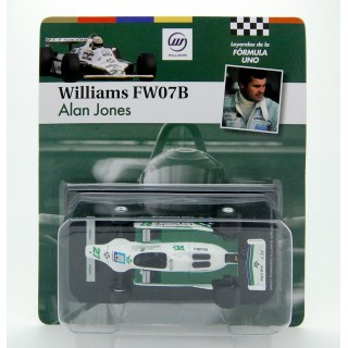 Williams Ford FW 07B F1 1980 Alan Jones 1:43