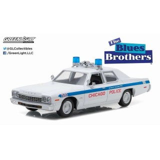 """Dodge Monaco 1975 Chicago Police Department  """"The Blues Brothers"""" 1:24"""