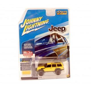 Jeep Cherokee XJ Custom Bright Yellow 1:64