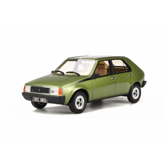 Renault 14 TS mousse green 1:18