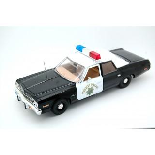 "Dodge Monaco 1975  California Highway Police ""CHiPs"" 1:18"