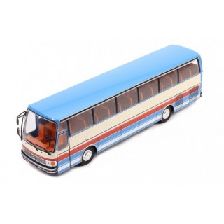 Setra S215 HD Bus 1976 Crema - Blu 1:43