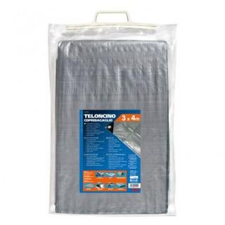 Telo impermeabile in polietilene copri bagagli 3x4 m
