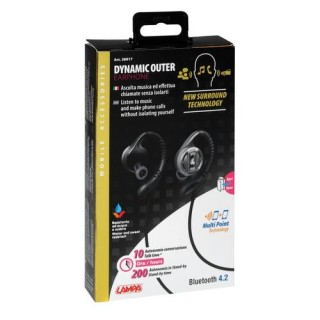 Dynamic Outer auricolare stereo Bluetooth