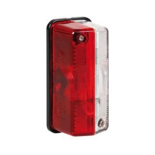 Luce ingombro 12/24V Bianco - Rosso