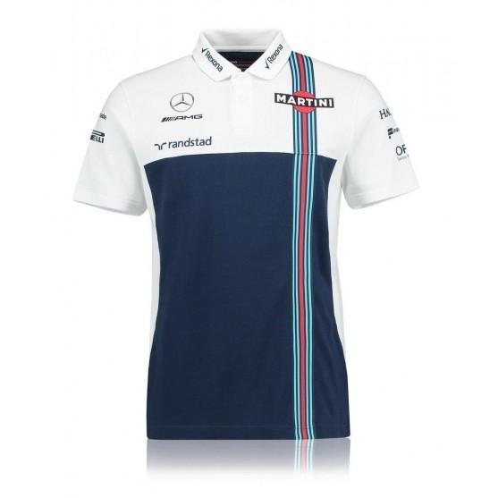 Williams Martini Racing Team Polo Ufficiale 2017