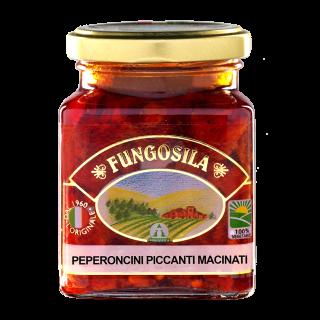 Peperoncini Macinati Piccanti Fungosila 180 g