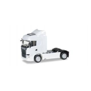 Scania R Streamline Trattore rigido highline bianco 1:87