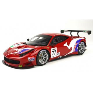 FERRARI 458 GT3 Wyatt-Bertolini-Rugolo AF Corse 77 L.E.1/100 1:18