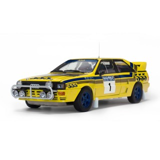 Audi Quattro A2 H.Mikkola/A.Hertz Winner Hong Kong Beijing Rally 1985 1:18