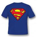 Superman Logo T-Shirt Cotone