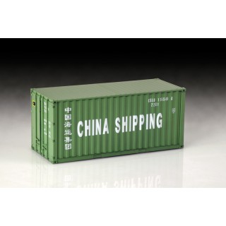 Shipping Container 20 Ft. Kit 1:24