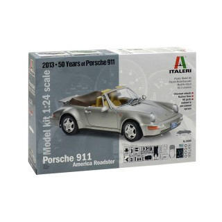 Porsche 911 Carrera America Roadster Kit 1:24