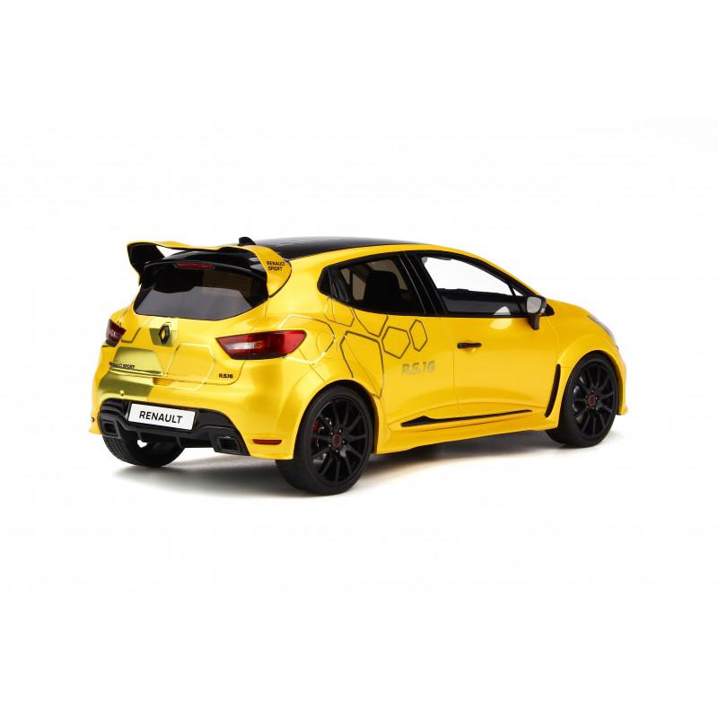 Renault Rs16: Renault Clio Concept RS16 Jaune Sirius 1:18