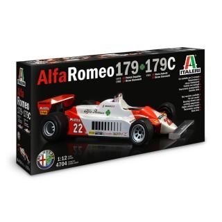 Alfa Romeo F1 179 - 179C anni 1979 - 1981 Kit 1:12