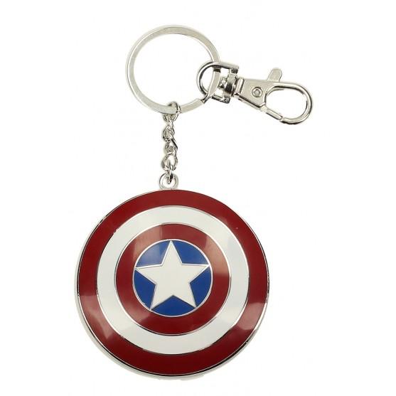 SD Toys  Capitan America scudo portachiavi metallo
