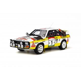 Audi Quattro Sport Gr. B E2 Rally Safari 1984 1:18