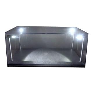 Vetrina Led Show case con illuminazione Led per scala 1:18