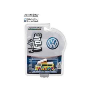"Volkswagen T2 Campmobile Hippie Dippy Van ""Club Vee-Dub series 4"" 1:64"