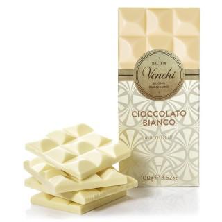 Venchi Tavoletta di cioccolato bianco extra fine 100 gr