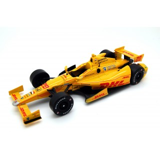 Andretti Motorsport Dhl 2011 Indycar 28 Ryan Hunter-Reay 1:18