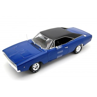 "Dodge Charger 1968 Blue Dennis Guilder's ""Christine"" 1:18"