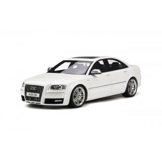 Audi S8 D3 Ibis White 1:18
