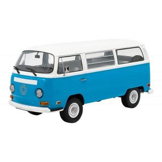"""Volkswagen type T2 bus """"Lost"""" azzurro-bianco 1:18"""