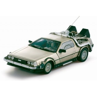 "De Lorean DMC  ""Back to the Future - Ritorno al Futuro"" 1985 Parte I 1:18"