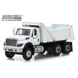 International WorkStar Construction Dump Truck 2018 white 1:64