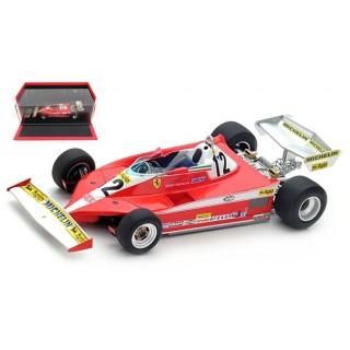 Ferrari F1 1978 312 T3 Winner Canada GP Gilles Villeneuve 1:18