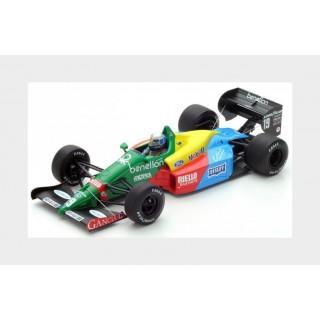 Benetton Ford B188 F1 1988 19 Alessandro Nannini  3rd British GP 1:18