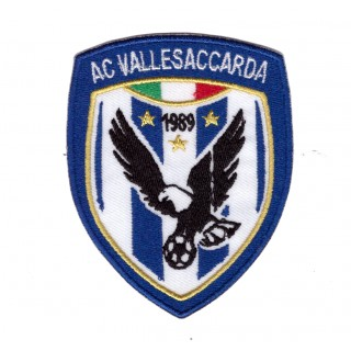 ACD Vallesaccarda scudetto Ufficiale termo adesivo 30° anno